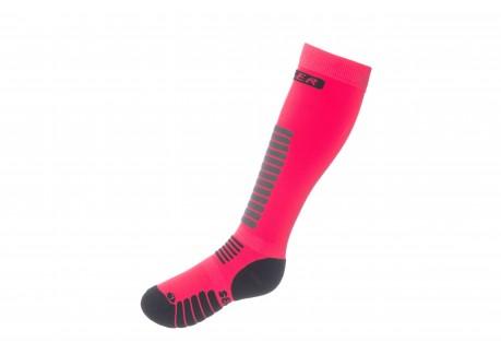 00 Seger skisokker pink diva
