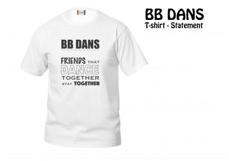 BB Statement T-shirt 029032-00 hvid