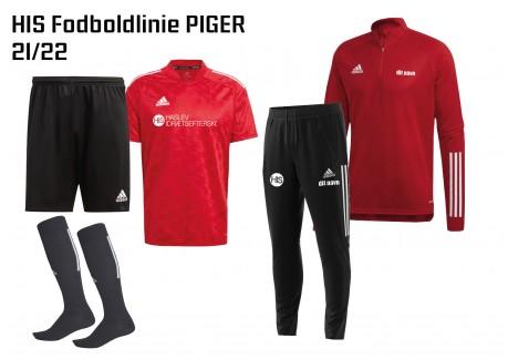 1 HIS Skoletøj FODBOLDLINIEN PIGERE 2021/2022
