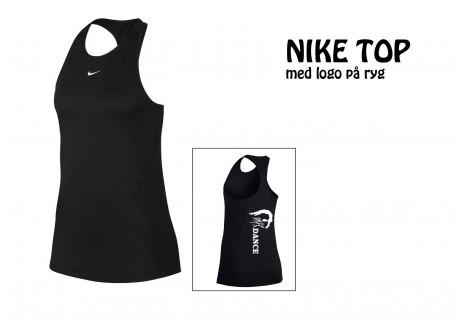 MFK Nike TOP sort børn/voksen