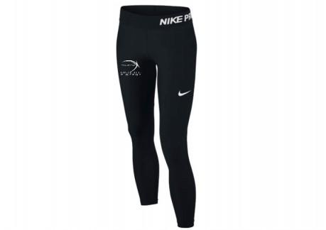 RP Nike Pro Long Tight BØRN 743730-010 (Kan kun bestilles af Ringstedpigerne)