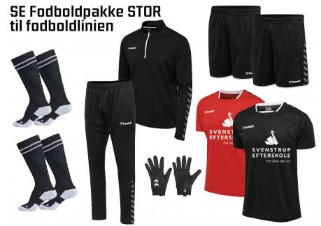 2 SE Svenstrup Efterskole Fodboldpakke (stor) 2021 204919 204924 204927 205369