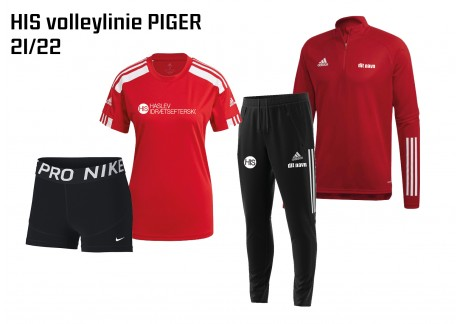 1 HIS Skoletøj VOLLEYLINIEN PIGER 2021/2022