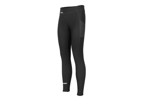 Fusion Long dame tight med lomme SORT