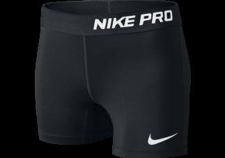 "Nike Pro Kort 3"" tight Voksen sort"