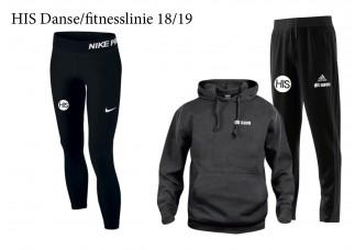 1 HIS Skoletøj DANSE/FITNESS-LINIEN 2018/19