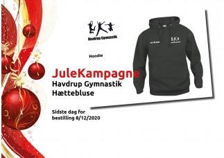 00 Havdrup Gym. Hættebluse CL210031 sort JULEKAMPAGNE