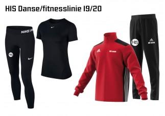 1 HIS Skoletøj DANSE/FITNESS-LINIEN 2019/2020
