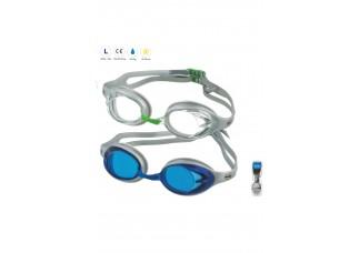 HSVH Svømmebrille 4155 klar&sort 12 stk 1440