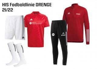 1 HIS Skoletøj FODBOLDLINIEN DRENGE 2021/2022