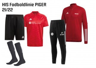 1 HIS Skoletøj FODBOLDLINIEN PIGER 2021/2022
