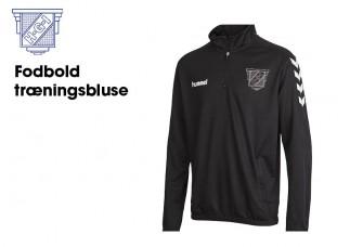3 Havdrup Fodbold træningstop (36895 SORT 1/4 zip