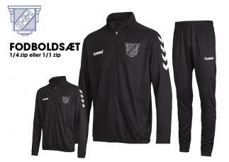 1 Havdrup Fodbold træningssæt 36893 (36895) 32165 SORT