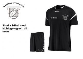 Havdrup Gym Hummel t-shirt shorts 003677 011334