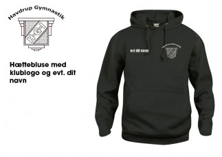 1 Havdrup Gym. Hættebluse CL210031 sort