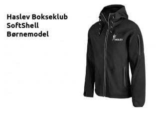 HB Softshell jakke IK2336 sort Børn