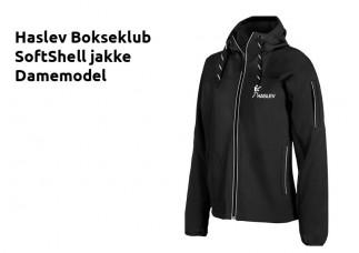 HB Softshell jakke IK2346 sort DAME