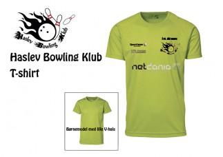 2 stk. Haslev Bowling Klub T ID0570 42030
