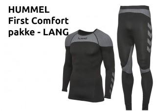 2 Hummel First Comfort Pakke lang tights 04-327 11-359 (klub) KAMPAGNE
