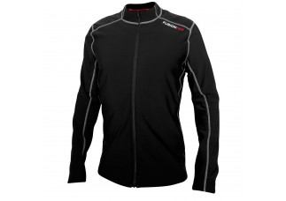 EJBY Fusion HOT med zip langærmet Mens SORT