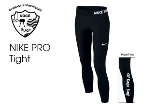 Nike Pro lang tight BØRN 649434-010 GKB