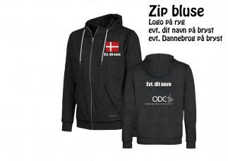 ODC Zip bluse IM4447 Børn/Damer