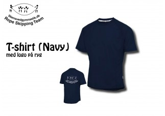 2 Rope Skipping T-shirts IK 3080/3042 Navy