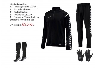 2 SE Svenstrup Efterskole Fodboldpakke (Lille) 2019 2020 033406/037229