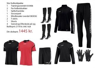 2 SE Svenstrup Efterskole Fodboldpakke (stor) 2019 2020 033406/083036