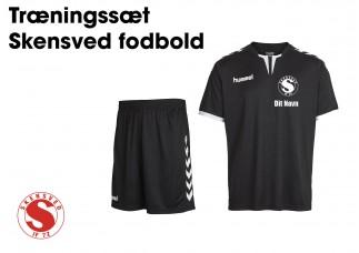 1 Skensved Fodbold Tr. bluse + shorts  03636 11083