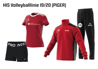 1 HIS Skoletøj VOLLEYBALL-LINIEN 2019/2020