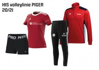 1 HIS Skoletøj VOLLEYBALL-LINIEN piger 2020/2021