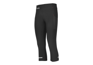 EJBY Fusion DAME 3/4 tight med lomme SORT