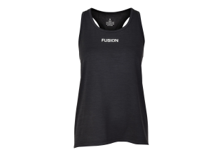 EJBY Fusion C3 DAME Singlet  SORT